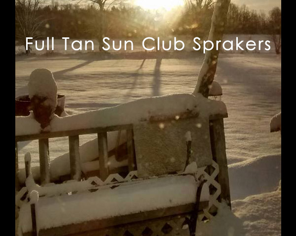 Full Tan Sun Club Sprakers